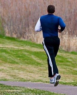 correr, footing, ejercicio, vida saludable