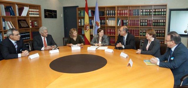 A conselleira de Sanidade, Pilar Farjas Abadía, recibirá ao presidente da Organi