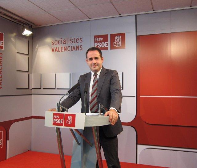Jorge Alarte en imagen de archivo