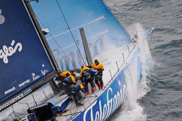 El 'Team Telefónica' Manda En La Volvo Ocean Race