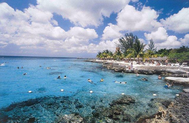 Arrecife En La Riviera Maya.