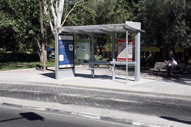 Marquesina de autobús