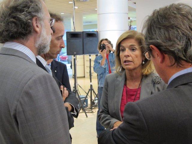 Ana Botella, Delegada De Medio Ambiente Del Ayuntamiento De Madrid