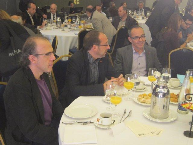 Joan Coscubiela, Junto A Ricard Gomà Y Gregorio Belmonte