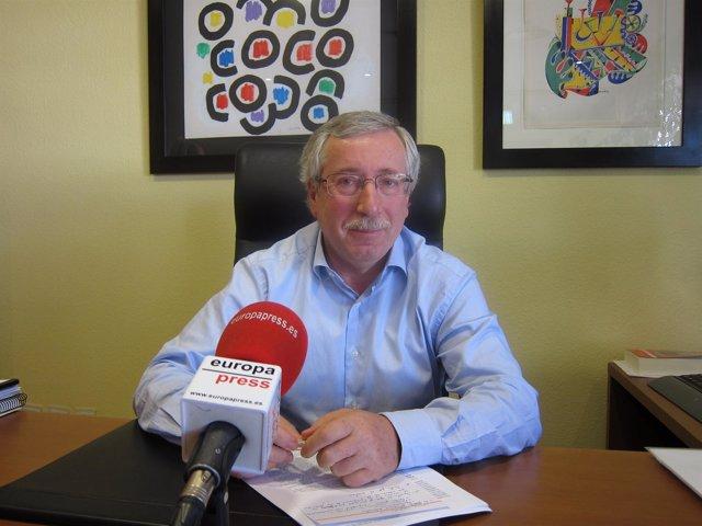 El Secretario General De CC.OO., Ignacio Fernández Toxo