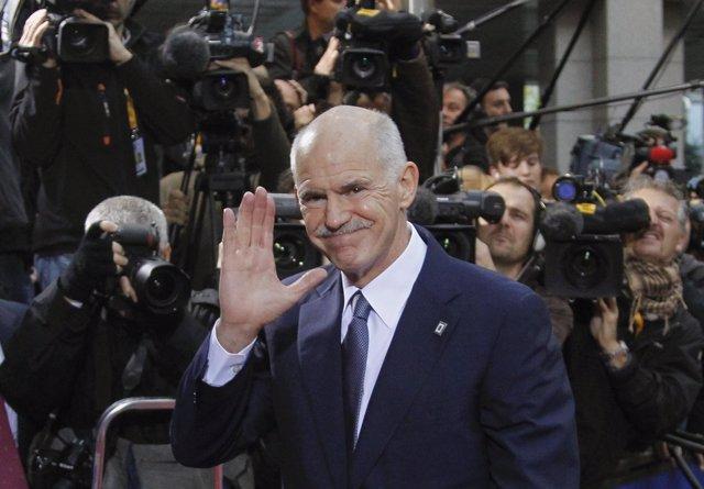 Georgios Papandreu, Primer Ministro De Grecia