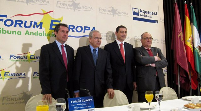 Alfonso Guerra, En El Forum Europa. Tribuna Andalucía.