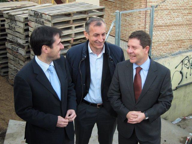 GABRIEL CONZÁLEZ, ANTONIO GUIJARRO Y GARCÍA-PAGE