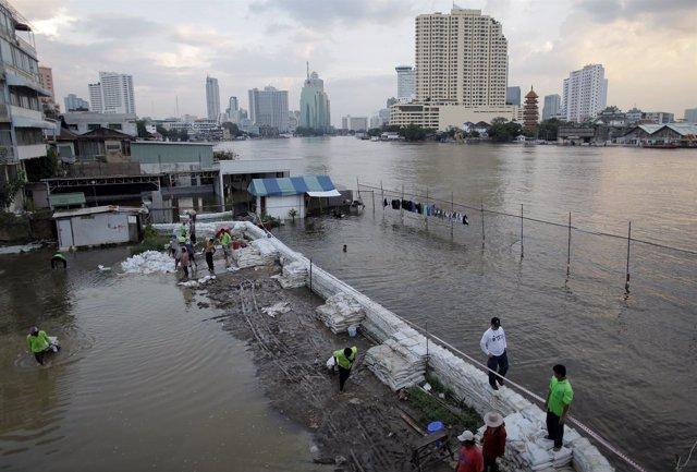 Inundaciones En Bangkok