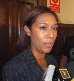 La Portavoz Del Consell Y Consellera Lola Johnson en imagen de archivo