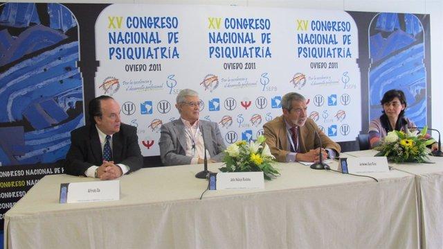 Alfredo Cía, Julio Vallejo, Jerónimo Saiz Y Pilar Saiz