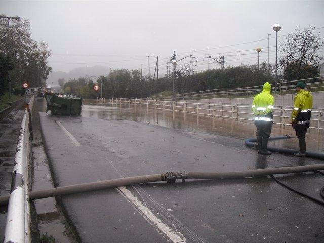Inundaciones En San Sebastian