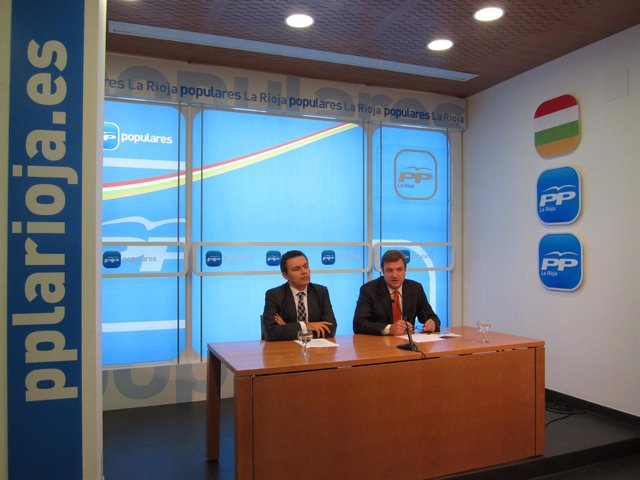 Conrado Escobar Y Alberto Bretón, Candidatos Congreso Y Senado PP Rioja