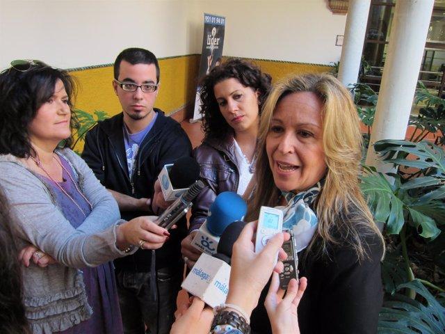 Trinidad Jiménez, En Declaraciones A Los Periodistas