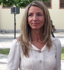 La Consejera De Cultura Y Turismo, Alicia García