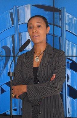 La Portavoz Del Consell Y Consellera De Turismo, Lola Johnson