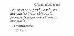 La Fundación Comillas Homenajea En Su Web Al Fallecido Tomás Segovia