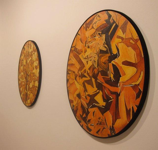 Obras De Jesús Martínez Ostern Exhibidas En La Muestra 'Oval'
