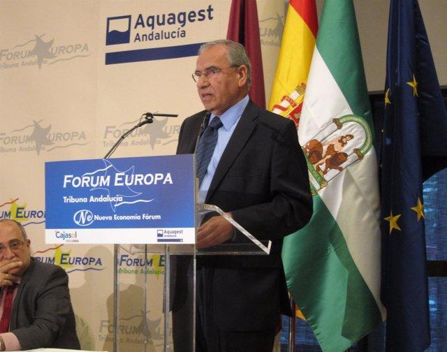 Alfonso Guerra, Hoy En Fórum Europa. Tribuna Andalucía.