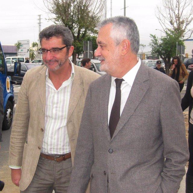 Griñán Y El Alcalde De Alcalá De Guadaira, Este Miércoles