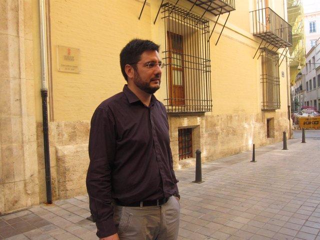 El Diputado De EUPV Ignacio Blanco