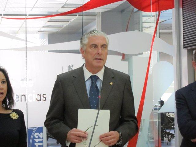 El Consejero De Política Territorial E Interior, Antonio Suárez