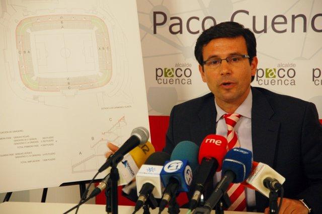El concejal socialista en Granada Francisco Cuenca