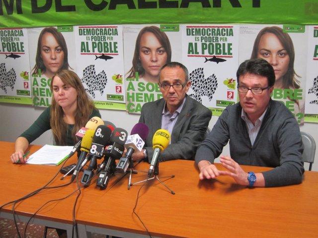 Alba Benedicto, Joan Coscubiela Y Joan Josep Nuet