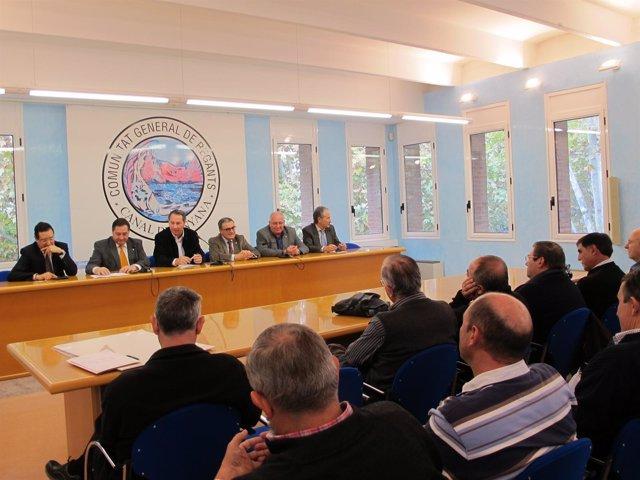 Presentación De La Modernización Del Riego Del Canal De Pinyana