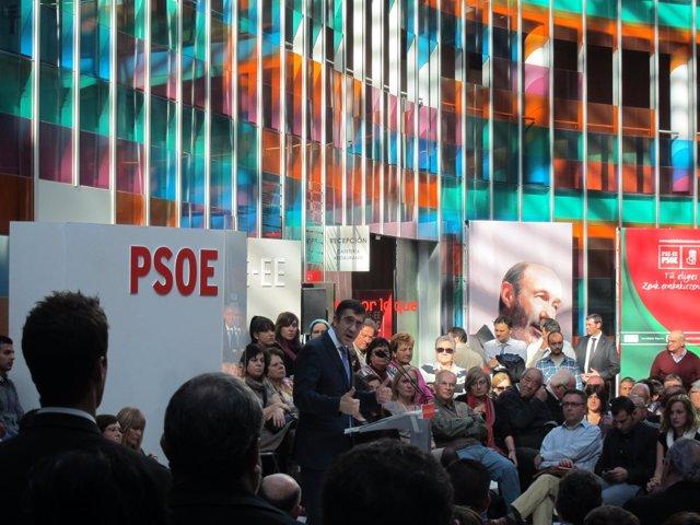 Patxi López En Mitin