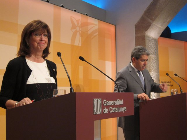 Irene Rigau Y Francesc Homs