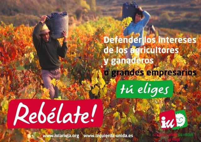 Cartel De IU En Las Elecciones 2011