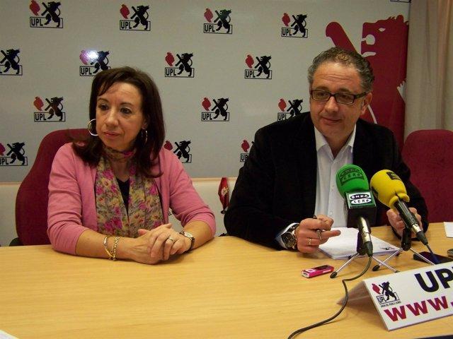 El Secretario General De UPL Y Candidato Al Senado Por León, Javier Chamorro