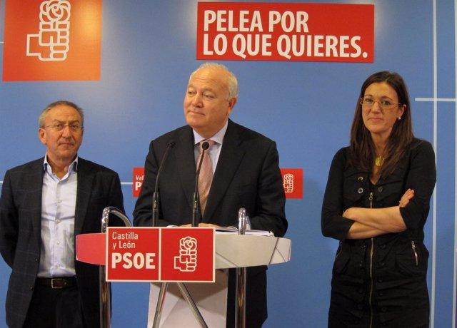 Moratinos, Soraya Rodríguez Y Emilio Álvarez
