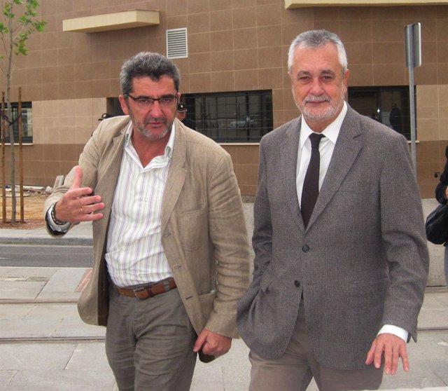José Antonio Griñán, Este Miércoles En Alcalá De Guadaira, Junto Al Alcalde