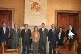 Silvio Sarralde, Alfonso Quijano, Ignacio Alcaraz, Maria Salom.