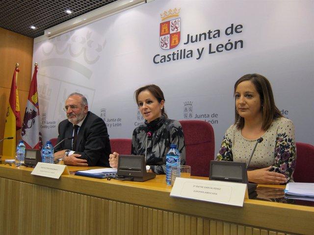 La Consejera De Agricultura Se Reúne Con Europarlamentarios De PP Y PSOE