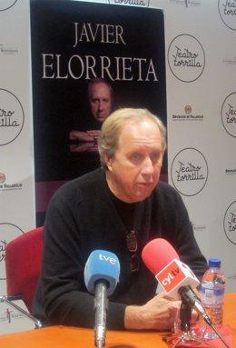 El Director De Cine, Actor, Compositor Y Cantante Javier Elorrieta