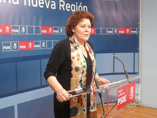 Teresa Rosique, diputada PSOE