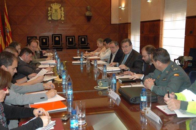 Reunión Sobre El Plan De Viabilidad Invernal