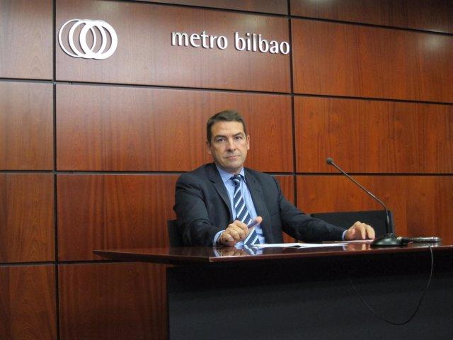 El Consejero Delegado De Metro Bilbao Iñaki Prego