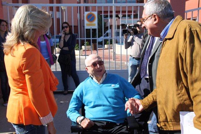 El Candidato Al Congreso Por El PP De Melilla, Antonio Gutiérrez