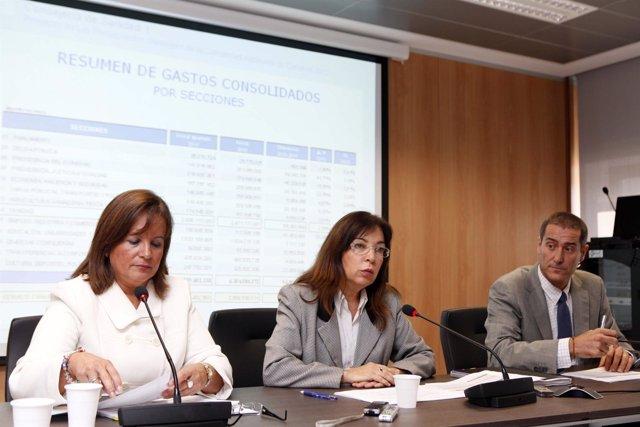 Presentación De Los Presupuestos De La Consejería Canaria De Sanidad