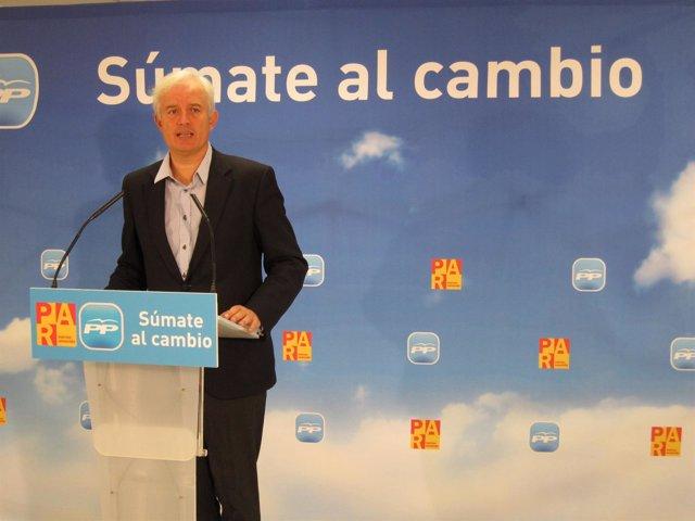 El Candidato De La Coalición PP-PAR Por Zaragoza Al Congreso, Eloy Suárez