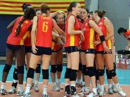 Selección Española De Voleibol Femenino Europeo