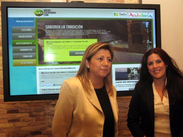 Salazar Y Férriz, En La Presentación Del Viaje De Blogueros A La Provincia.