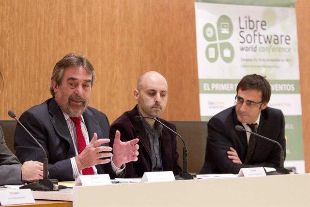 Belloch Inaugura Jornada Software Libre
