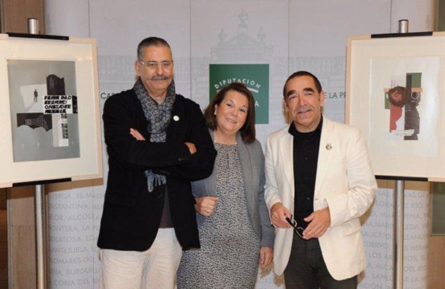 Emilio Gil Presenta Su Exposición De Collages 'Se Sabe Como Empieza'