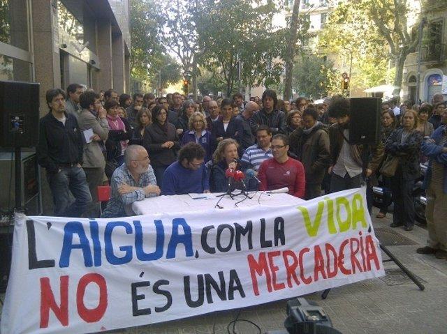 Plataforma Agua Es Vida Contra La Privatización De ACA Y ATLL En Catalunya