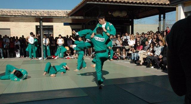 Exhibición De Artes Marciales En La UCAM